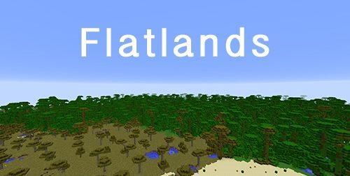 Flatlands для Майнкрафт 1.12.2