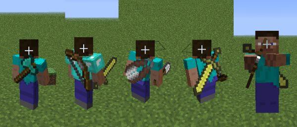 Back Tools для Майнкрафт 1.12.2