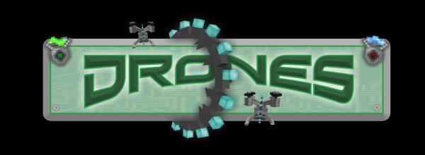 Drones для Майнкрафт 1.12.2