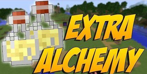 Extra Alchemy для Майнкрафт 1.12.2
