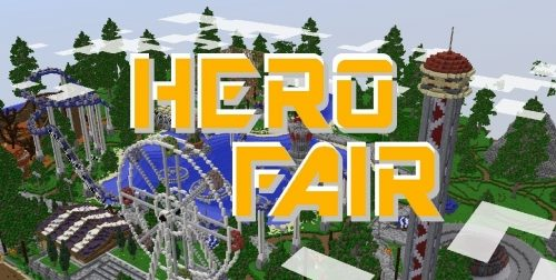 Herofair Amusement Park для Майнкрафт 1.12.2