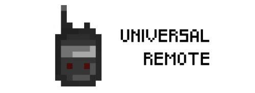 Universal Remote для Майнкрафт 1.12.2
