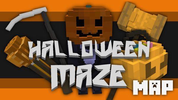 Halloween Maze для Майнкрафт 1.12.2