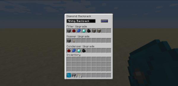 Iron Backpacks для Майнкрафт 1.12.2