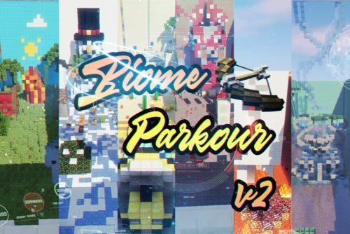 The Biome Parkour! для Майнкрафт 1.12.2