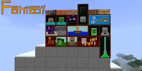 Fantasy Mine для Майнкрафт 1.12.2