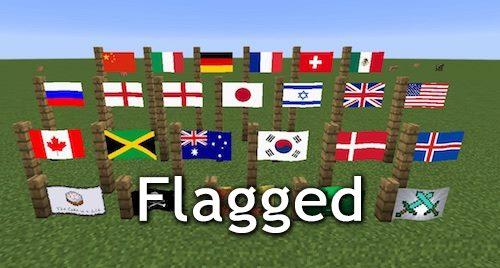 Flagged для Майнкрафт 1.11.2