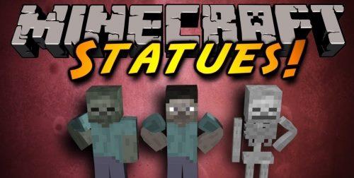 Statues для Майнкрафт 1.12.2
