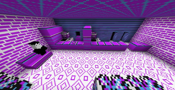 Lavender Town для Майнкрафт 1.12.2