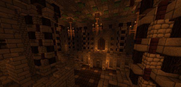 The Mevanian Palace для Майнкрафт 1.12.2