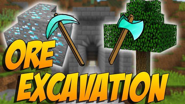 Ore Excavation для Майнкрафт 1.12.2