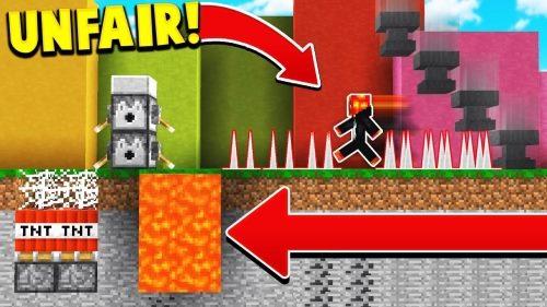 Unfair Minecraft для Майнкрафт 1.12.2