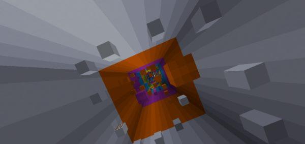 Rainbow Parkour для Майнкрафт 1.12.2