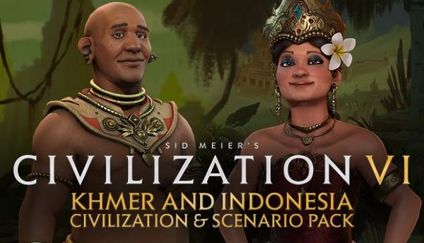 Кряк для Sid Meier's Civilization VI: Khmer and Indonesia Civilization & Scenario Pack v1.0.0.194