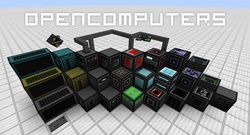 Open Computers для Майнкрафт 1.12.2