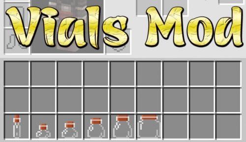 Vials для Майнкрафт 1.12.2