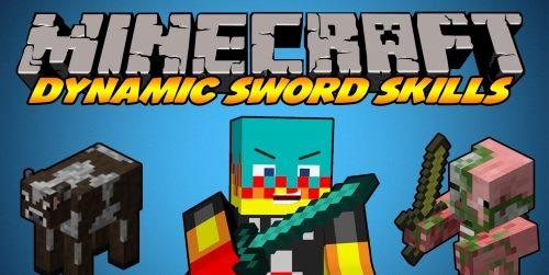 Dynamic Sword Skills для Майнкрафт 1.12.2