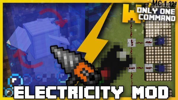 Electricity для Майнкрафт 1.12.2