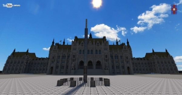 The Hungarian Parliament для Майнкрафт 1.12.2