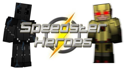 Speedster Heroes для Майнкрафт 1.12.2