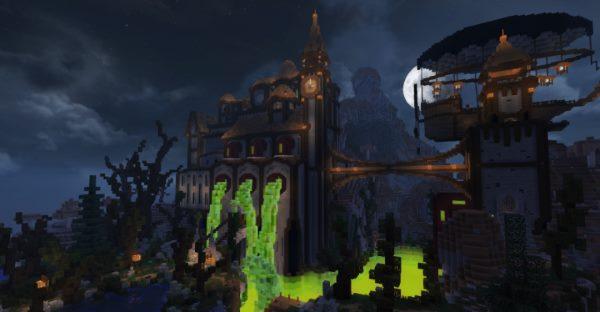 Slime Manor для Майнкрафт 1.12.2