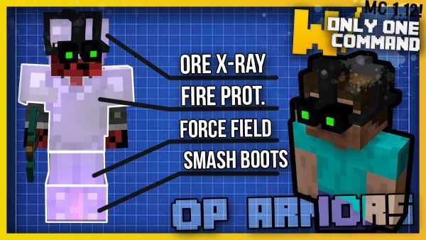 OP Armors для Майнкрафт 1.12.2
