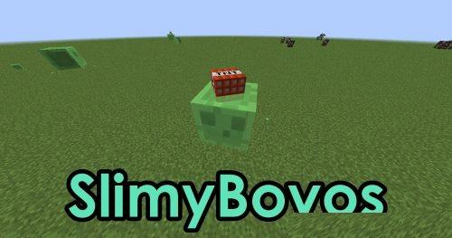 SlimyBoyos для Майнкрафт 1.12.2
