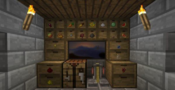 Storage Drawers для Майнкрафт 1.12.2