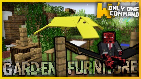 Garden Furniture 2 для Майнкрафт 1.12