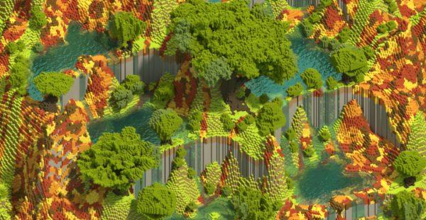 Calico Falls для Майнкрафт 1.10.2