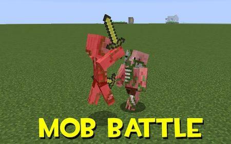 Mob Battle для Майнкрафт 1.12.2