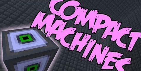 Compact Machines для Майнкрафт 1.12.2