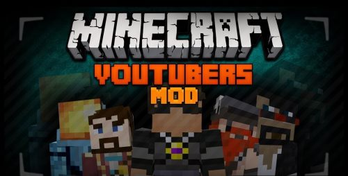 Youtubers+ для Майнкрафт 1.11.2