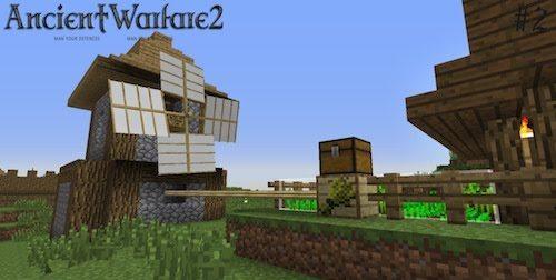 Ancient Warfare для Майнкрафт 1.12.2