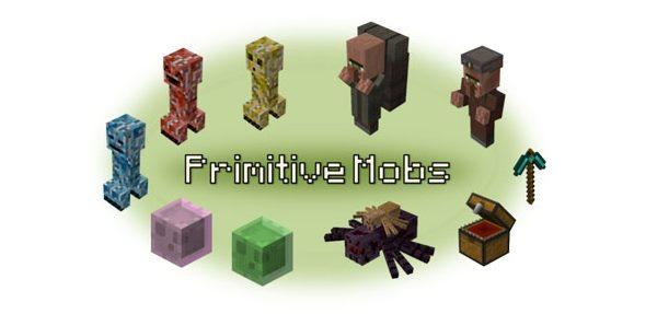Primitive Mobs для Майнкрафт 1.12.2