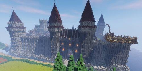 Epic Médiéval City для Майнкрафт 1.12.2