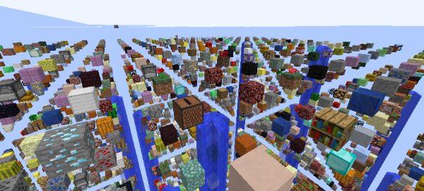 Sky Grid для Майнкрафт 1.12.2