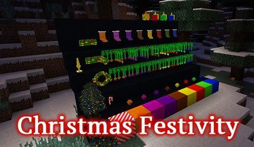 Christmas Festivity для Майнкрафт 1.12.2