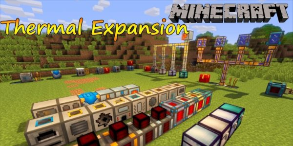 Thermal Expansion для Майнкрафт 1.12.2