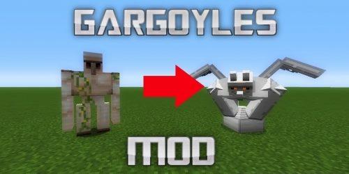 Gargoyles для Майнкрафт 1.12.2
