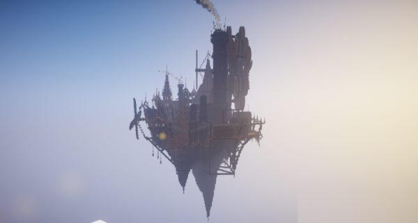 Industrial Floating City для Майнкрафт 1.12.2