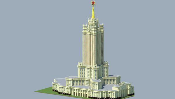 Административное здание в Зарядье для Майнкрафт 1.12.2