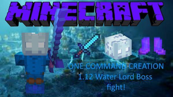 Water Lord Boss для Майнкрафт 1.12.2