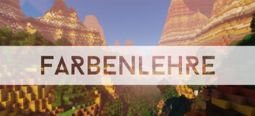 Farbenlehre Medieval для Майнкрафт 1.12.2