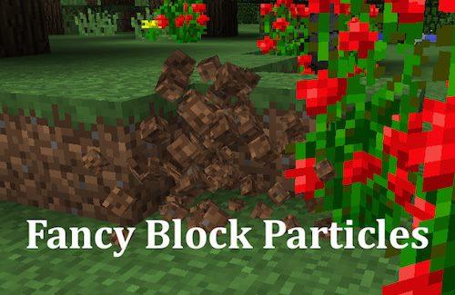 Fancy Block Particles для Майнкрафт 1.12.2