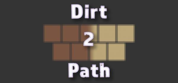 Dirt2Path для Майнкрафт 1.12.2