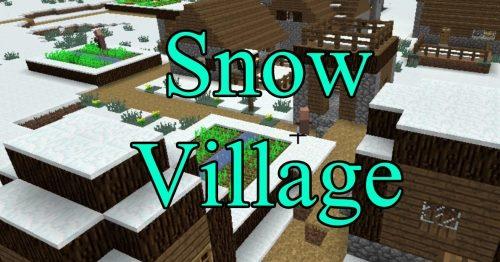 SnowVillage для Майнкрафт 1.12.2