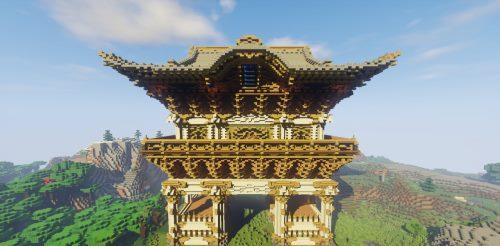 Nikko Toshogu Shrine для Майнкрафт 1.12.2