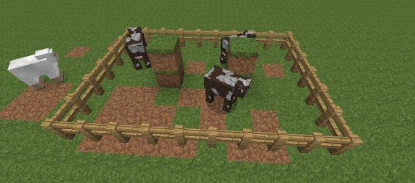 Hungry Animals для Майнкрафт 1.11.2