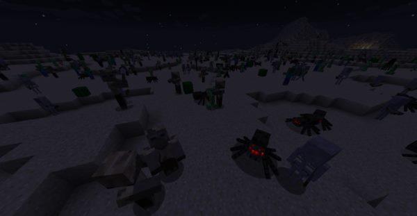 IncreaseMobs для Майнкрафт 1.12.2